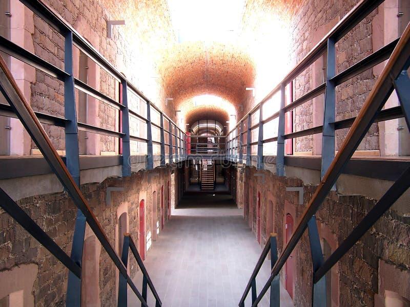 σκαλοπάτια φυλακών στοκ φωτογραφίες