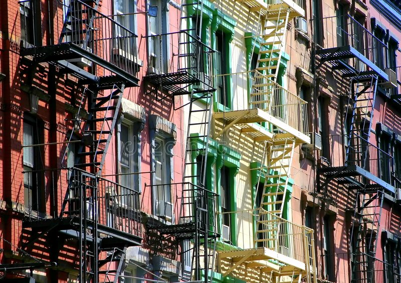 σκαλοπάτια χρώματος στοκ φωτογραφίες