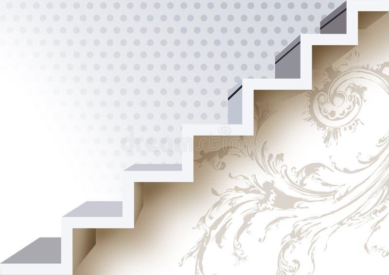 σκαλοπάτια διανυσματική απεικόνιση