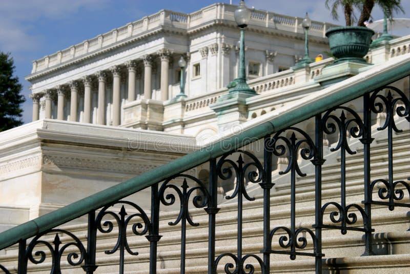 σκαλοπάτια capitol στοκ φωτογραφία