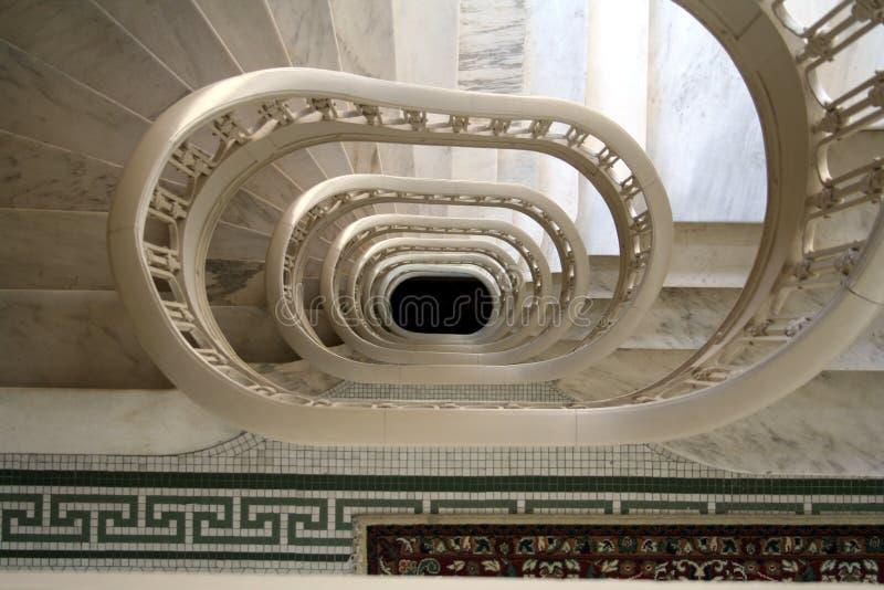 σκαλοπάτια Marbla Στοκ Φωτογραφία