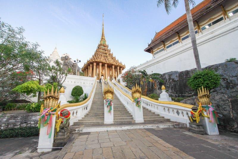 Σκαλοπάτια Wat Phra Phutthabat, Saraburi Ταϊλάνδη στοκ φωτογραφίες