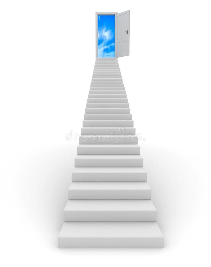 σκαλοπάτι διανυσματική απεικόνιση