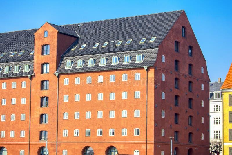 Σκανδιναβικό σπίτι στοκ εικόνες με δικαίωμα ελεύθερης χρήσης