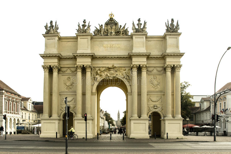 Σκαπάνη Brandenburger στο Πότσνταμ Γερμανία στοκ φωτογραφίες με δικαίωμα ελεύθερης χρήσης