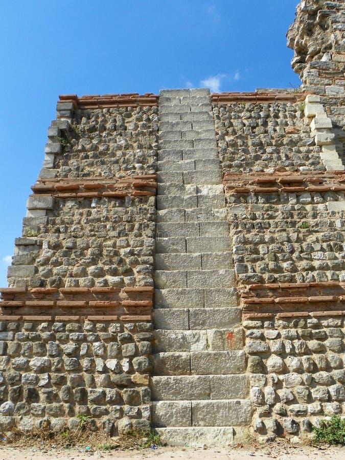 Σκαλοπάτια του Castle στοκ φωτογραφία με δικαίωμα ελεύθερης χρήσης