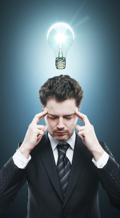 Σκεπτικός επιχειρηματίας στοκ εικόνες με δικαίωμα ελεύθερης χρήσης