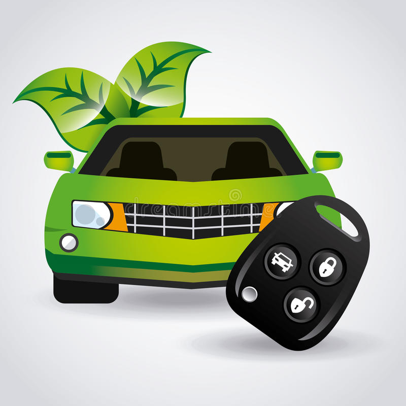 Download Σκεφτείτε το πράσινο σχέδιο Διανυσματική απεικόνιση - εικονογραφία από σύμβολο, δημιουργικός: 62704918