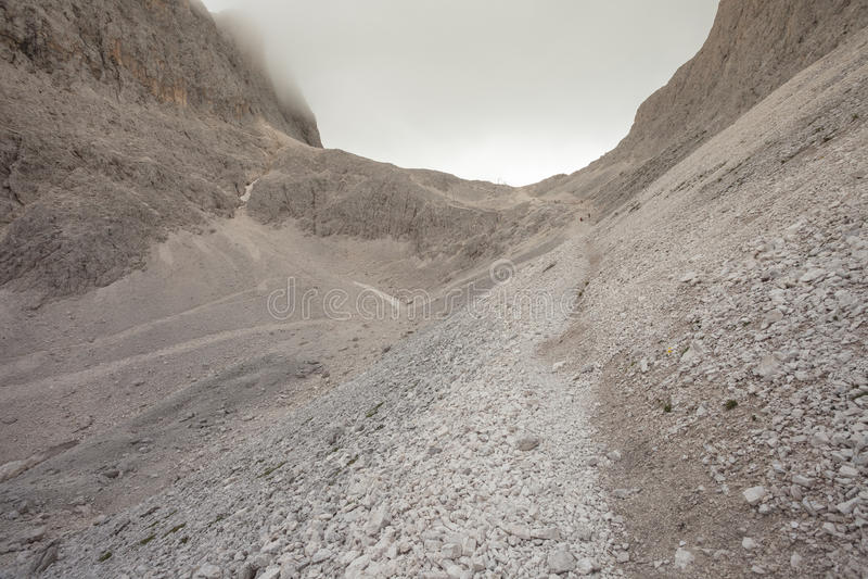 Σκηνές βουνών από την περιοχή Catinaccio, δολομίτες στοκ εικόνες με δικαίωμα ελεύθερης χρήσης