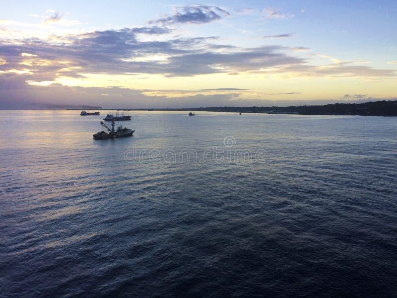 Σκηνές κεντρικού Honiara, νήσοι του Σολομώντος στοκ φωτογραφίες