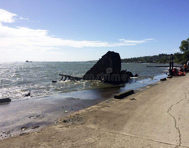Σκηνές κεντρικού Honiara, νήσοι του Σολομώντος στοκ εικόνα