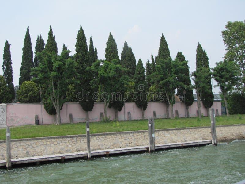 Σκηνές του νησιού λιμνοθαλασσών Burano, Ιταλία στοκ φωτογραφία με δικαίωμα ελεύθερης χρήσης