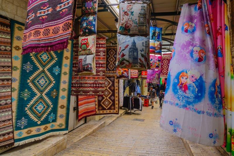 Σκηνή αγοράς στη Ναζαρέτ στοκ φωτογραφία