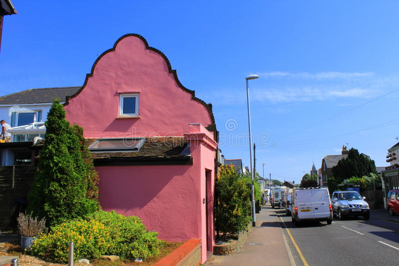 Σκηνή Κεντ UK πόλης δρόμων Walmer στοκ εικόνες με δικαίωμα ελεύθερης χρήσης
