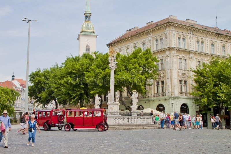 Σκηνή μέσα, Βουδαπέστη Ουγγαρία στοκ εικόνα