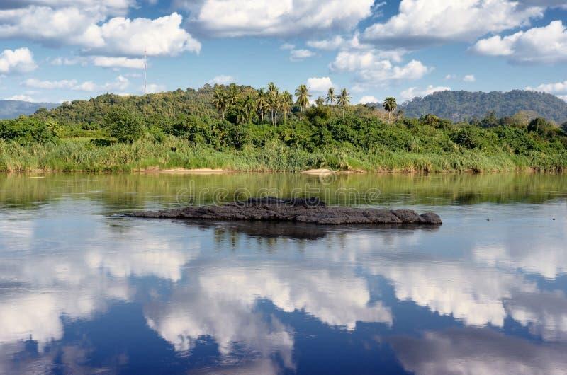 Σκηνή νερού scape στοκ φωτογραφία με δικαίωμα ελεύθερης χρήσης