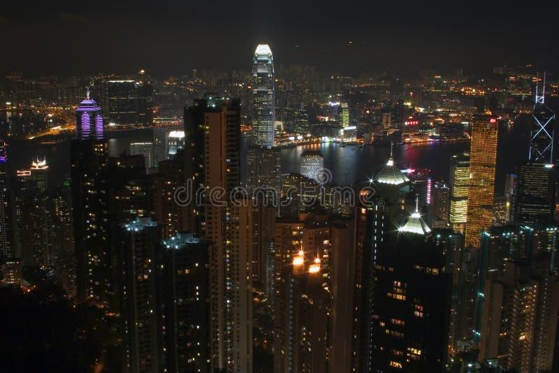 σκηνή νύχτας του Χογκ Κο&gamm στοκ φωτογραφία με δικαίωμα ελεύθερης χρήσης