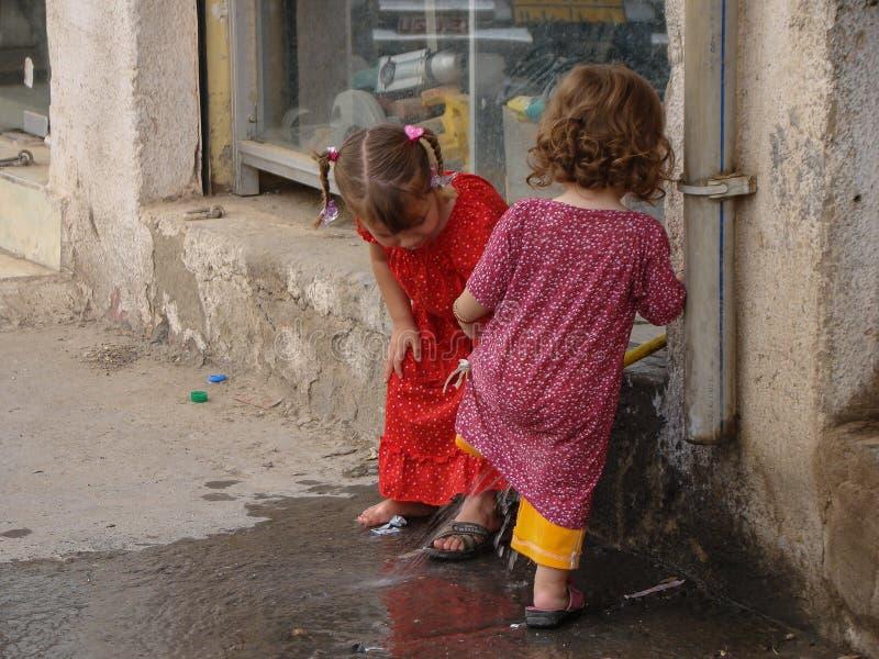 Σκηνή οδών σε Bazar σε παλαιό Erbil, Ιράκ στοκ φωτογραφία με δικαίωμα ελεύθερης χρήσης