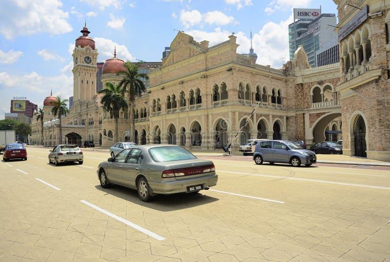 Σκηνή οδών της Κουάλα Λουμπούρ στοκ φωτογραφία με δικαίωμα ελεύθερης χρήσης