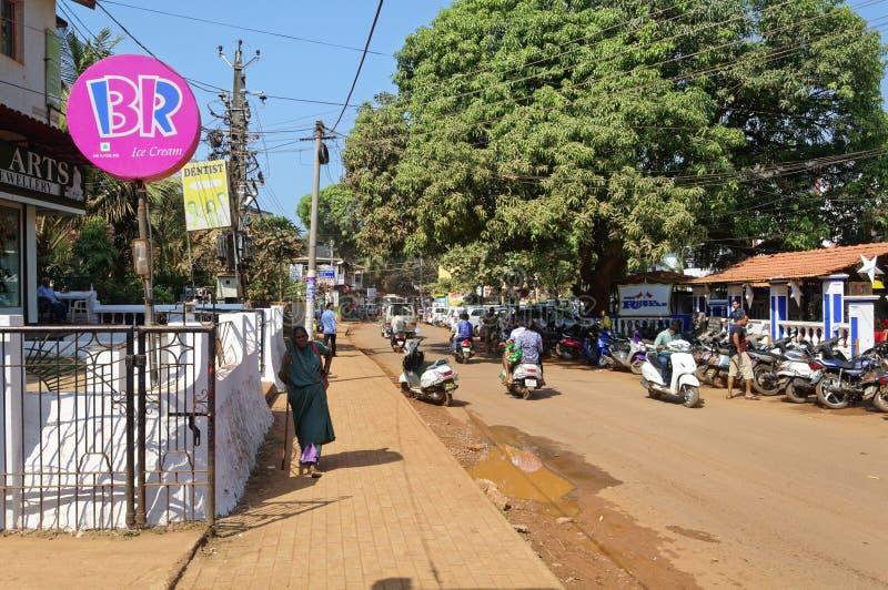 Σκηνή οδών Baga στοκ φωτογραφία με δικαίωμα ελεύθερης χρήσης
