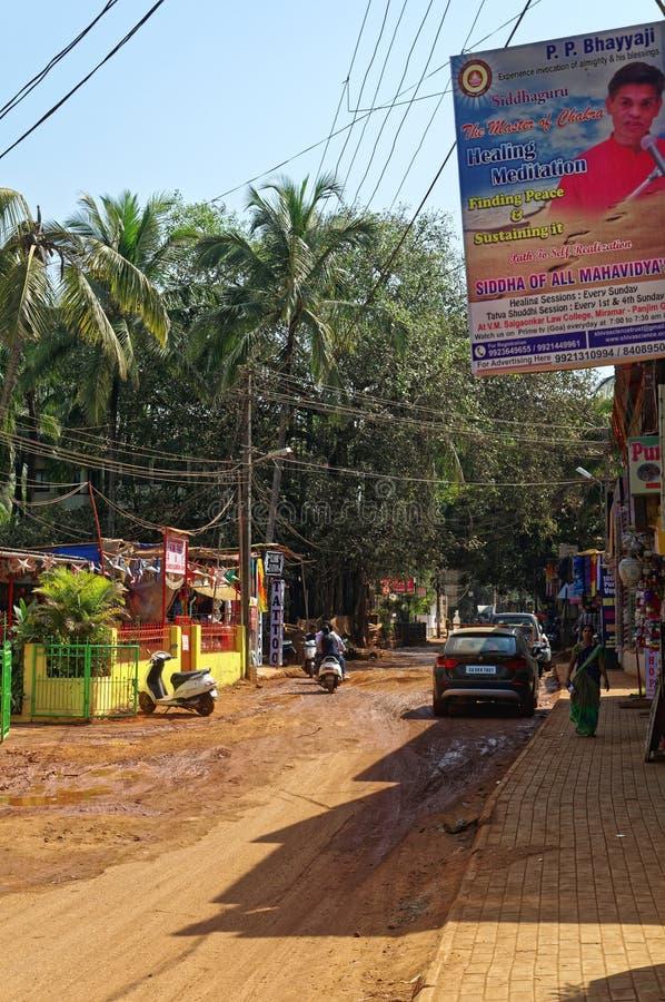 Σκηνή οδών Baga στοκ εικόνες