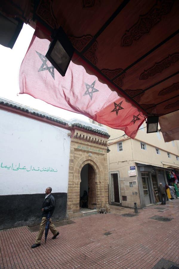 Σκηνή οδών, Rabat, Μαρόκο στοκ φωτογραφία με δικαίωμα ελεύθερης χρήσης