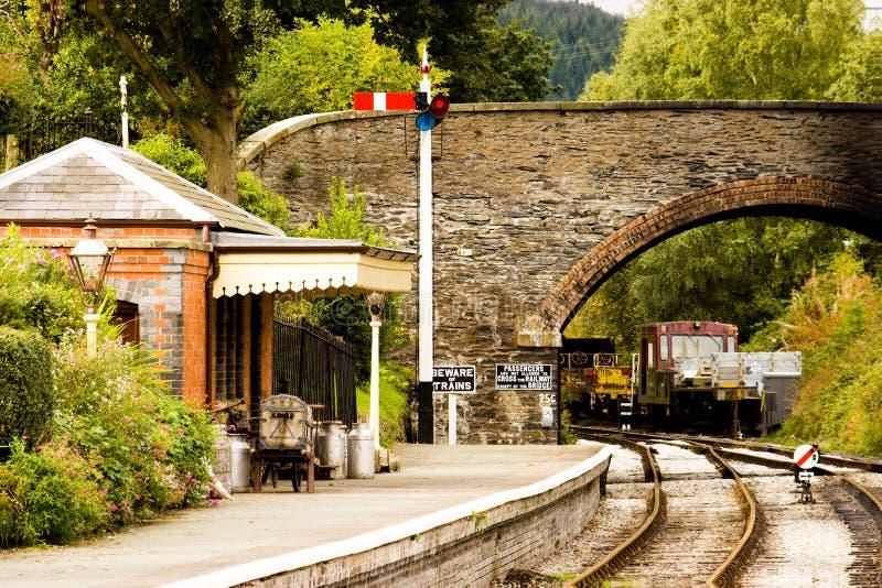 σκηνή σιδηροδρόμων στοκ φωτογραφία με δικαίωμα ελεύθερης χρήσης