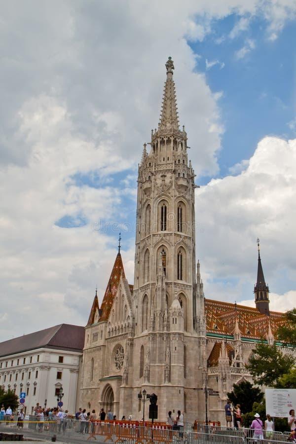 Σκηνή στη Βουδαπέστη, Ουγγαρία στοκ φωτογραφίες