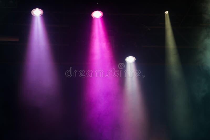 Σκηνή συναυλίας στοκ εικόνες