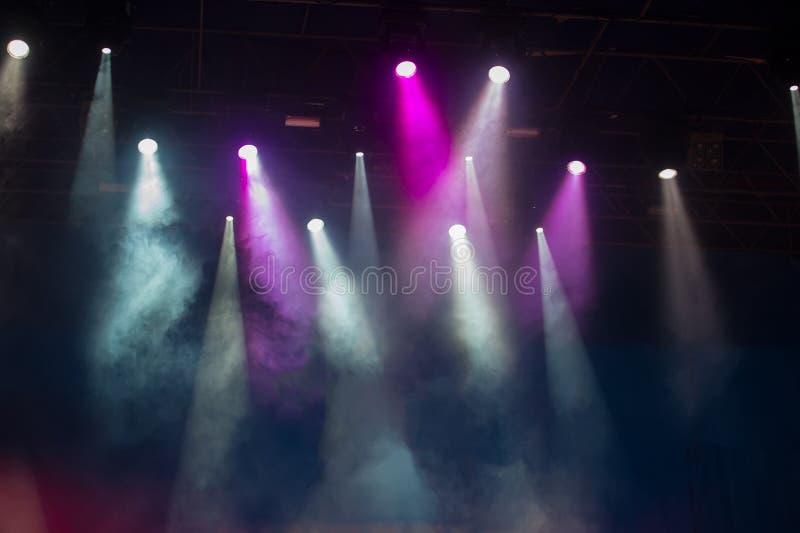 Σκηνή συναυλίας στοκ φωτογραφίες με δικαίωμα ελεύθερης χρήσης