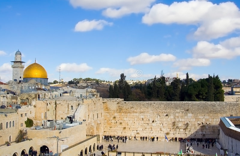 σκηνή της Ιερουσαλήμ στοκ φωτογραφίες με δικαίωμα ελεύθερης χρήσης