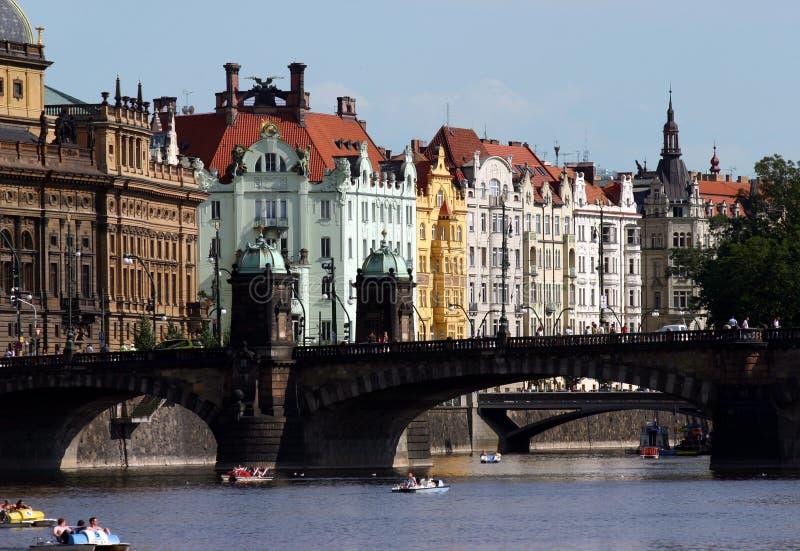 σκηνή της Πράγας στοκ εικόνα με δικαίωμα ελεύθερης χρήσης