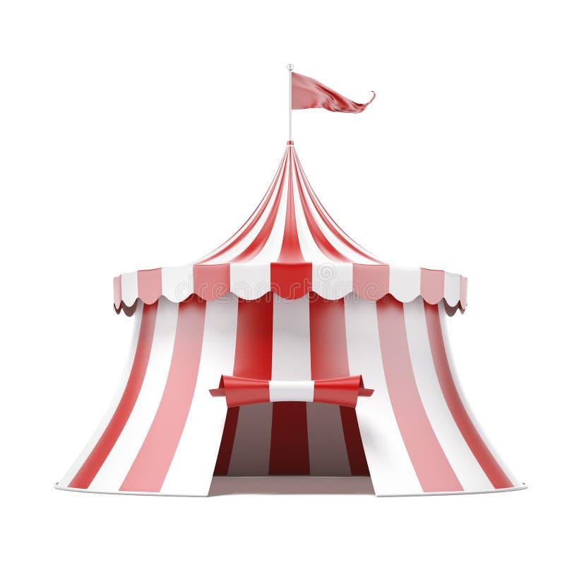 Σκηνή τσίρκων απεικόνιση αποθεμάτων