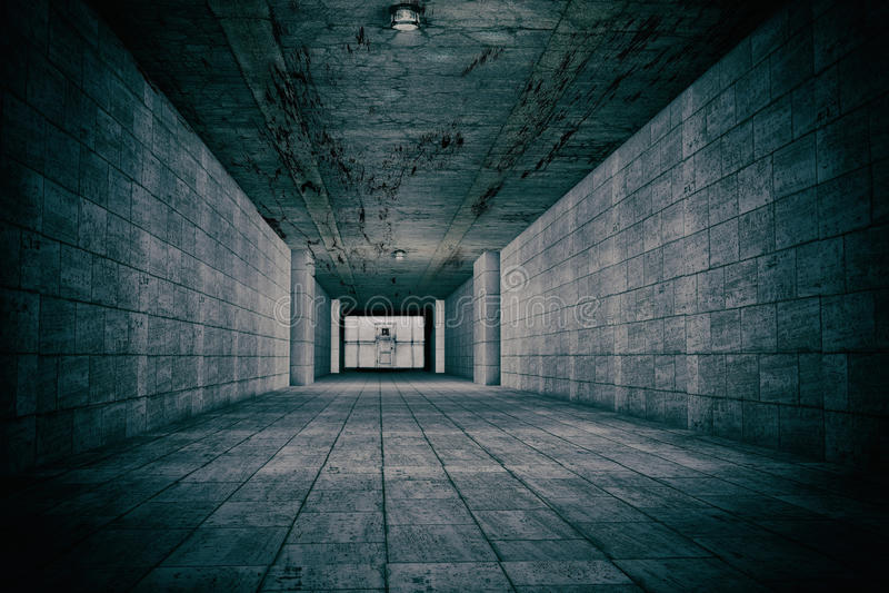 Σκηνή φρίκης του διανοητικού οργάνου στοκ εικόνες