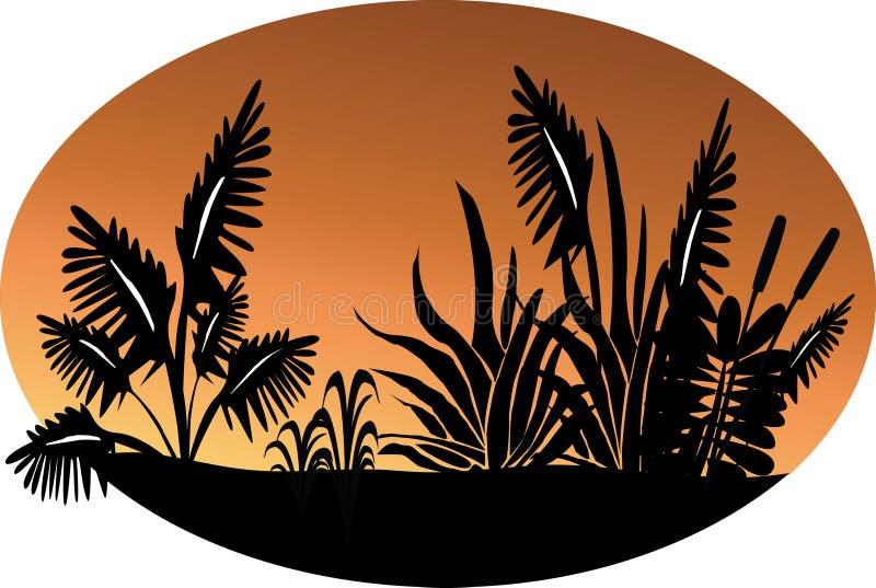 σκηνή φυτών απεικόνιση αποθεμάτων