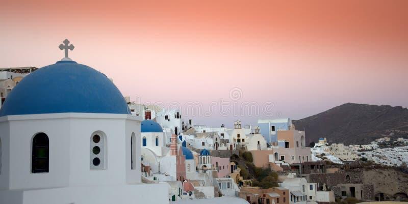 Σκηνή Santorini στοκ εικόνες με δικαίωμα ελεύθερης χρήσης
