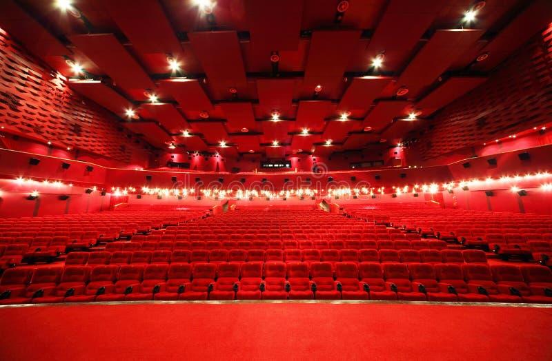 σκηνική όψη σειρών κινηματο στοκ φωτογραφία