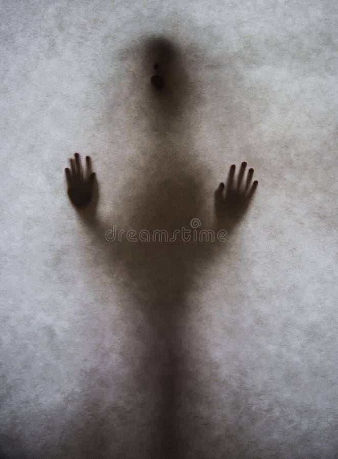 Σκιά γυναικών στοκ φωτογραφίες με δικαίωμα ελεύθερης χρήσης