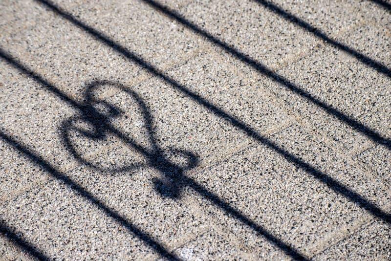 Σκιά καρδιών στοκ φωτογραφία με δικαίωμα ελεύθερης χρήσης