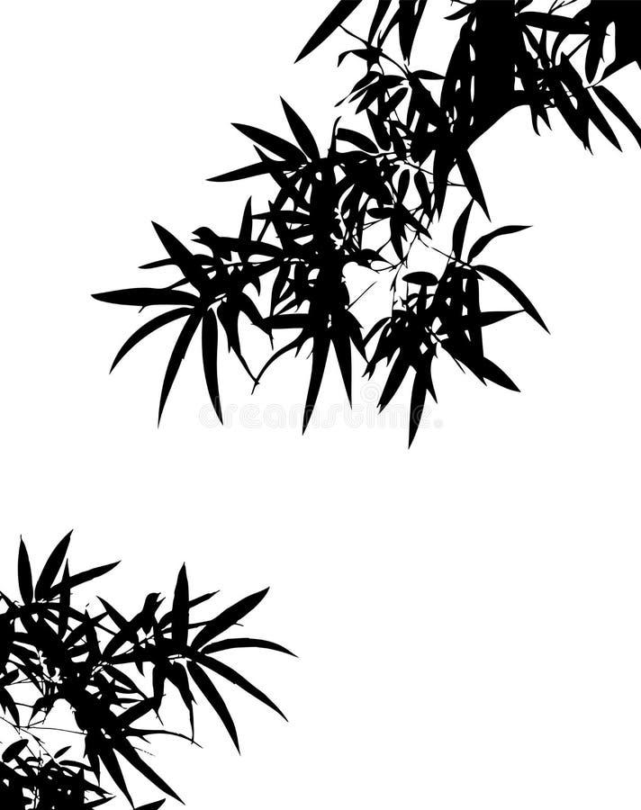 σκιά μπαμπού s απεικόνιση αποθεμάτων