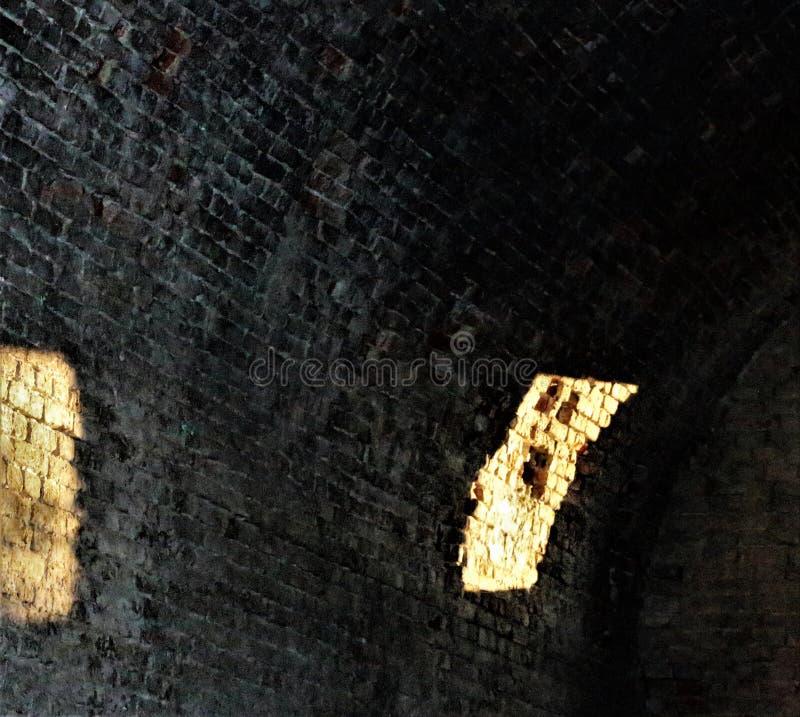 Σκιά στον τοίχο στοκ εικόνες