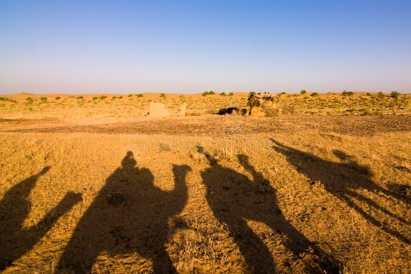 σκιά τροχόσπιτων στοκ φωτογραφία