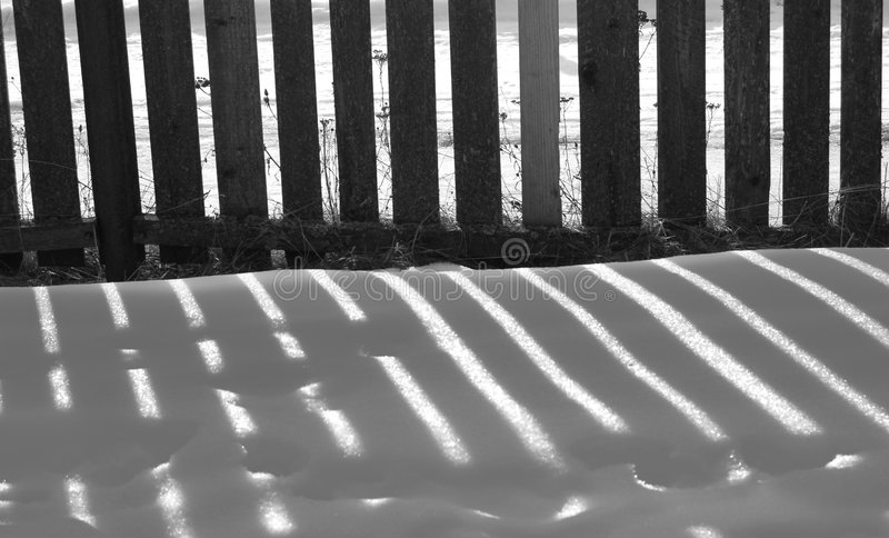 σκιά φραγών στοκ εικόνες με δικαίωμα ελεύθερης χρήσης