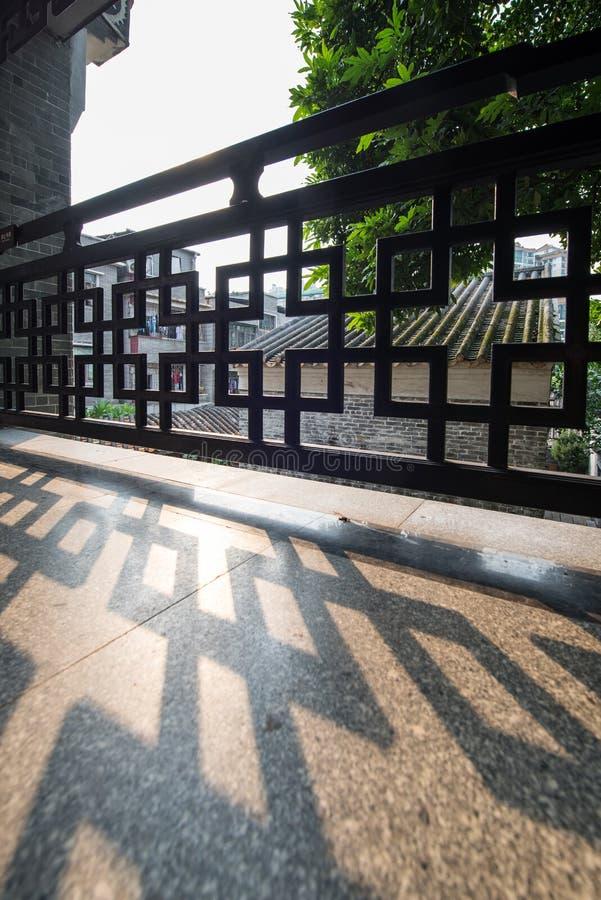 Σκιά φρακτών στοκ εικόνες με δικαίωμα ελεύθερης χρήσης