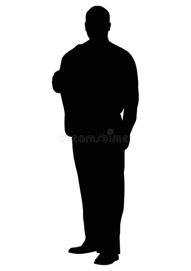 σκιαγραφία ατόμων απεικόνιση αποθεμάτων