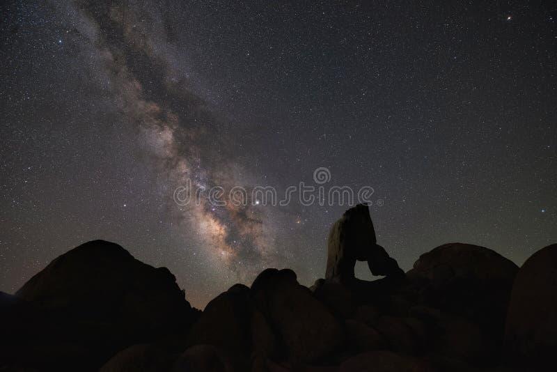 Σκιαγραφία της αψίδας μποτών τη νύχτα στοκ εικόνες