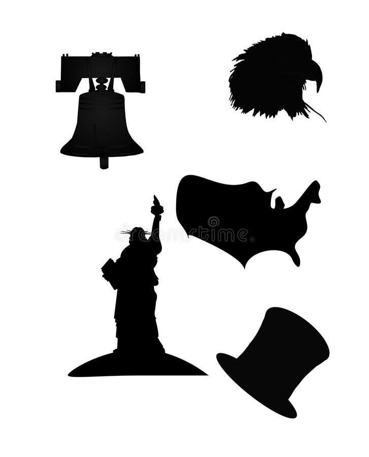 σκιαγραφίες ελεύθερη απεικόνιση δικαιώματος