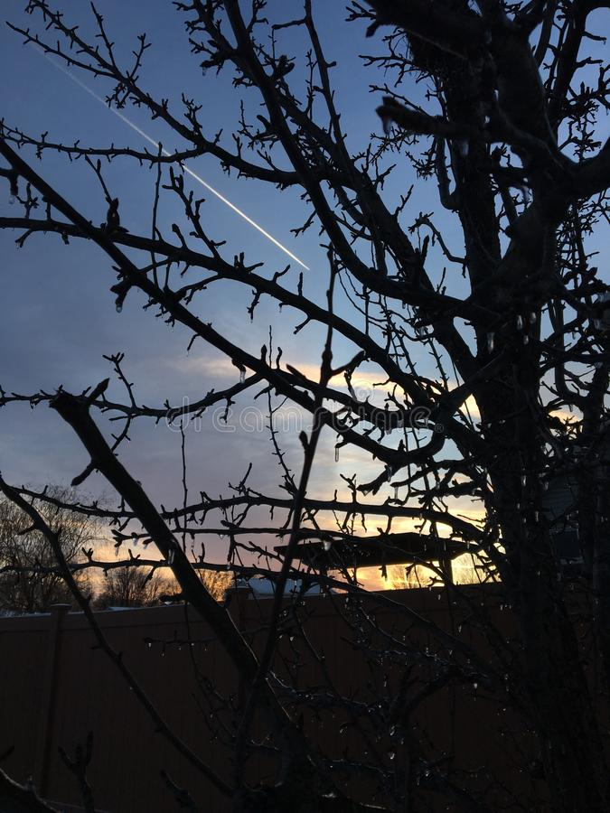 Σκιασμένος ουρανός στοκ φωτογραφία με δικαίωμα ελεύθερης χρήσης