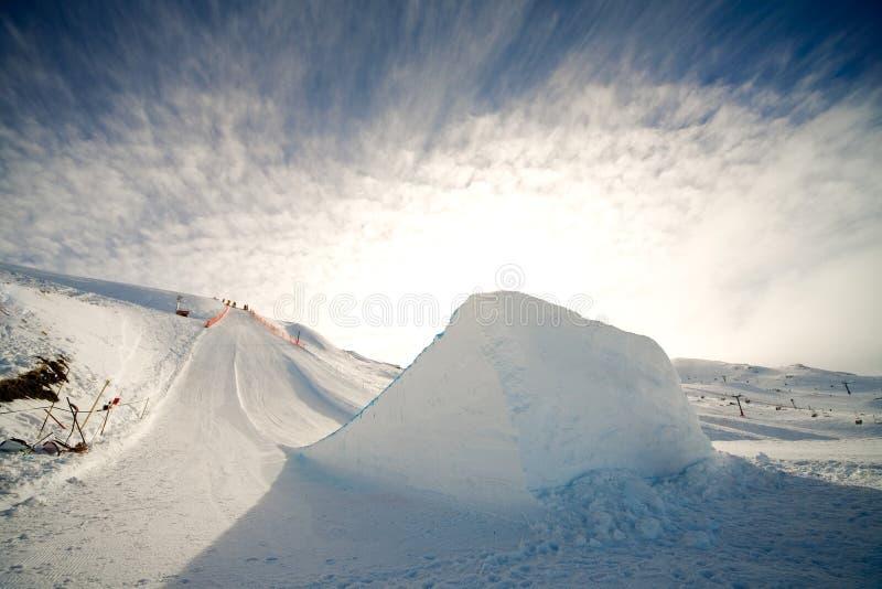 σκι άλματος στοκ φωτογραφία με δικαίωμα ελεύθερης χρήσης