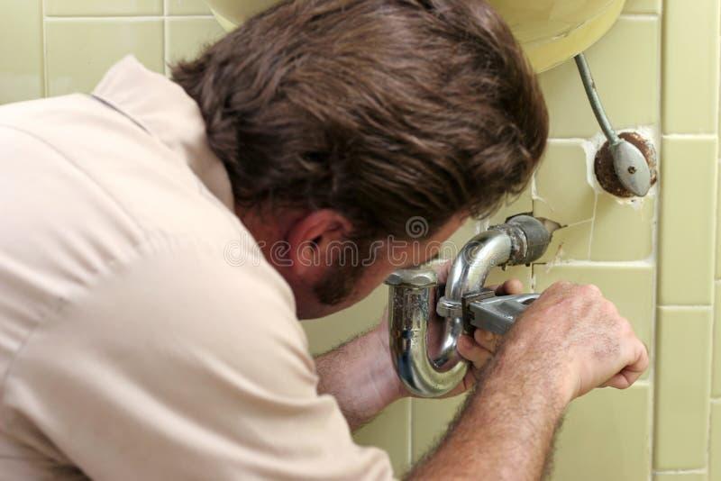 σκλήρυνση υδραυλικών εγκαταστάσεων σωλήνων στοκ εικόνες